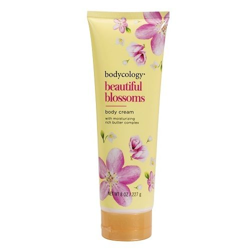 beautiful blossoms body cream